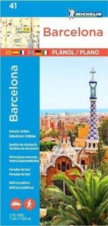 Barcelona térkép - Michelin 41