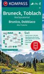 WK 57 - Bruneck - Toblach / Brunico - Dobbiaco turistatérkép - KOMPASS