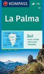 WK 232 - La Palma turistatérkép - KOMPASS