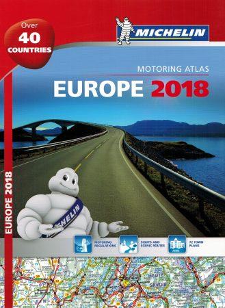 Európa atlasz 2018 - Michelin