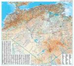 Algéria domborzati falitérkép - GiziMap