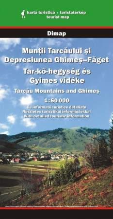 Tar-kő-hegység és Gyímes vidéke turistatérkép - Dimap