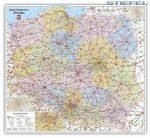 Lengyelország postai irányítószámai falitérkép - Stiefel