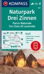 WK 047 - Drei Zinnen / Tre Cime di Lavaredo turistatérkép - KOMPASS