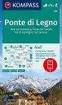 WK 107 - Ponte di Legno turistatérkép - KOMPASS