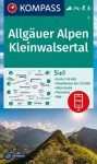 WK 3 - Allgäuer Alpen turistatérkép - KOMPASS