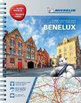 Benelux és Észak-Franciaország atlasz - Michelin