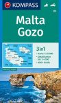 WK 235 - Malta turistatérkép - KOMPASS