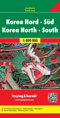 Korea (Észak és Dél) autótérkép - f&b AK 192