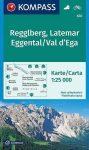 WK 630 - Regglberg-Latemar-Eggental / Val d'Ega turistatérkép - KOMPASS