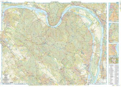 Pilis Visegradi Hegyseg Terkep Szarvas Map Utikonyv Terkep