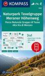 WK 043 Naturpark Texelgruppe - Meraner Höhenweg / Parco Naturale Gruppo di Tessa - Alta Via di Merano turistatérkép - KOMPASS