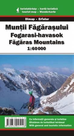 Fogarasi-havasok turistatérkép - Dimap