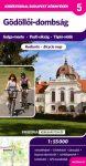 Gödöllői-dombság kerékpáros térkép - Frigória
