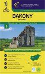 Bakony, déli rész turistatérkép - Cartographia