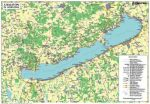 Balaton térkép könyöklő - Stiefel