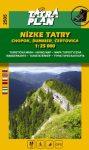 Tatra Plan 2505 - Nízke Tatry (Alacsony-Tátra): Chopok - Dumbier - Certovica turista térkép