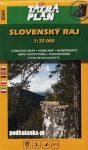 Tatra Plan 2504 - Slovenský raj (Szlovák Paradicsom) turista térkép