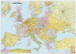 Európa politikai falitérkép - f&b