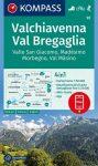 WK 92 - Valchiavenna - Val Bregaglia turistatérkép - KOMPASS