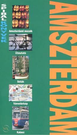 Amszterdam útikönyv - Spirálkönyv