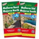 Mallorca autótérkép (észak-dél) térképcsomag - fb