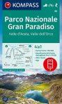WK 86 - Parco Nazionale Gran Paradiso turistatérkép - KOMPASS