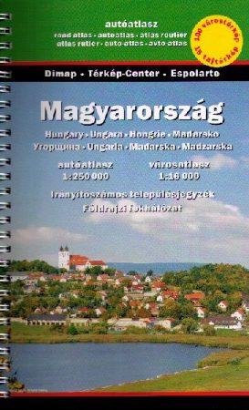 Magyarország autóatlasz - Szarvas map