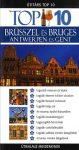 Brüsszel és Bruges, Antwerpen és Gent útikönyv  - Útitárs Top 10