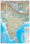 India domborzati falitérkép - GiziMap