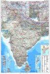 India autótérkép falitérkép - GiziMap