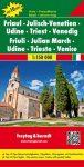 No 3. - Friaul - Venezia-Giulia Top 10 Tipp autótérkép - f&b