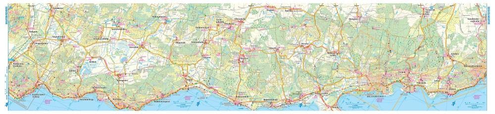 Balaton Es Kornyeke Balaton Felvidek Terkep Szarvas Map