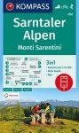 WK 056 - Sarntaler Alpen - Monti Sarentini turistatérkép - KOMPASS