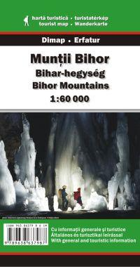 Bihar-hegység turistatérkép - Dimap