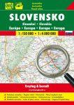 Szlovákia autóatlasz - f&b