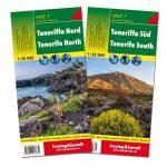 Teneriffa (észak és dél) turistatérkép készlet - WKE 7 SET f&b