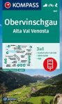 WK 041 - Obervinschgau / Alta Val Venosta turistatérkép - KOMPASS