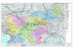 Szlovénia postai irányítószámai falitérkép - Stiefel