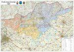 Észak-magyarországi régió járásainak falitérképe - Stiefel