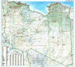 Líbia autótérkép falitérkép - GiziMap
