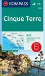 WK 2450 - Cinque Terre turistatérkép - KOMPASS