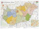 Magyarország járásai falitérkép - Stiefel