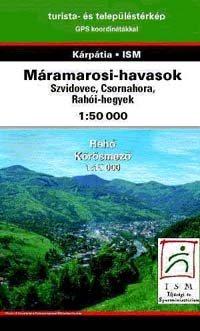Máramarosi-havasok turistatérkép - Dimap