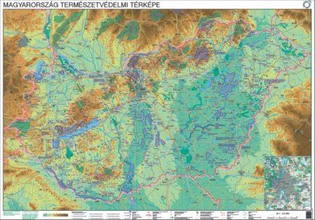 Magyarország természetvédelmi térképe - Stiefel