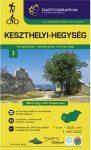 Keszthelyi-hegység turistatérkép - Cartographia