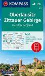 WK 811 - Oberlausitz-Zittauer Gebirge turistatérkép - KOMPASS