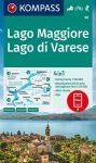 WK 90 - Lago Maggiore - Lago di Varese turistatérkép - KOMPASS