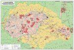 Magyar néprajzi térkép DUO könyöklő - Stiefel
