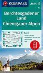 WK 14 - Berchtesgadener Land - Chiemgauer Alpen turistatérkép - KOMPASS